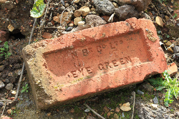 One of the oldest bricks from the Northam Brick Company