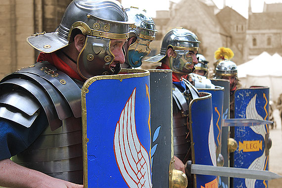 The Romans at Peterborough Heritage Festival
