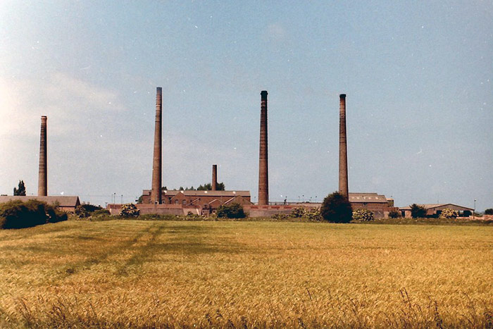 Northam Brick works from Eyebury Road