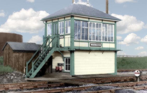 Eye Green signal box.