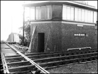 At Murrow the M&GN line actually crossed the LNER March to Spalding line at ground level.