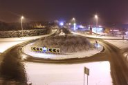 The Crowland Road/A47 roundabout